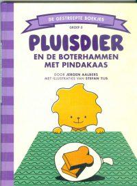 Aalbers, J. - Pluisdier en de boterhammen met pindakaas